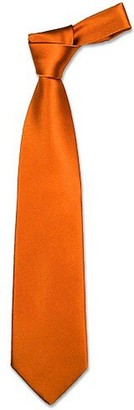 Forzieri Solid Copper Extra-Long Tie