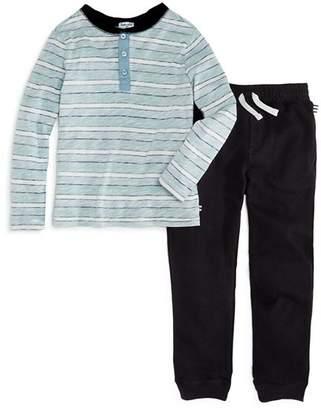 Splendid Boys' Striped Henley & Jogger Pants Set - Little Kid