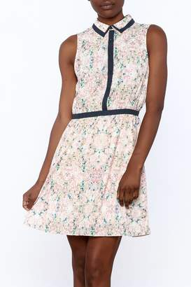 Gentle Fawn Floral Button Up Dress