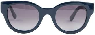 HUGO BOSS Navy Plastic Sunglasses