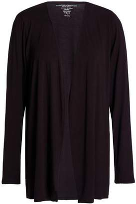 Majestic Filatures Stretch-Jersey Cardigan