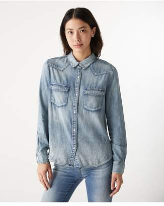 AG Jeans The Deanna Shirt - Pebble Shore