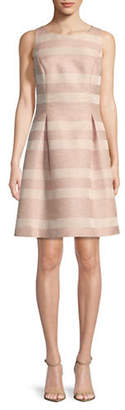 Tommy Hilfiger Eyelash Striped Fit-and-Flare Dress
