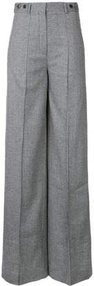 Rokh small houndstooth print palazzo trousers