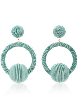 Rebecca de Ravenel Yasmin Hoop La La Earrings $345 thestylecure.com
