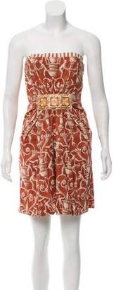 Philosophy di Alberta Ferretti Printed Mini Dress