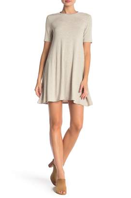 BCBGeneration Short Sleeve T-Shirt Dress