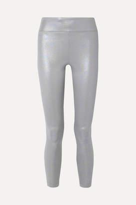 Koral Drive Iridescent Stretch-scuba Leggings - Silver