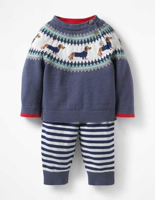 Boden Colourful Knitted Play Set