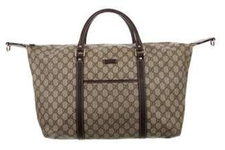 Gucci GG Plus Carry-On Duffel Bag brown GG Plus Carry-On Duffel Bag