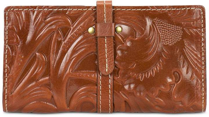Patricia Nash Florence Tooled Nevola Checkbook Case
