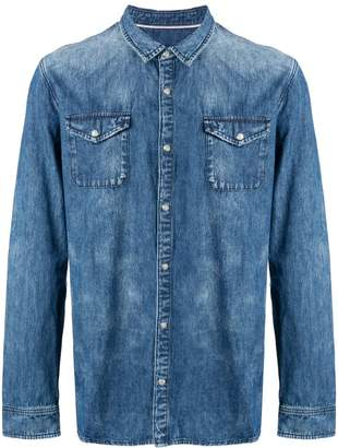 John Varvatos button-up denim shirt