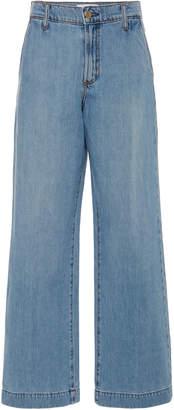 Nobody Denim Francoise High-Rise Wide-Leg Jeans Size: 24
