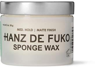styling/ Hanz De Fuko - Sponge Wax, 56g - Colorless