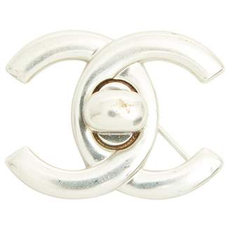 Chanel Silver Metal Pins & brooches