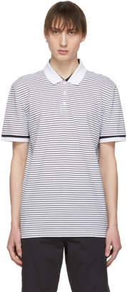 BOSS Black and White Parlay 43 Polo