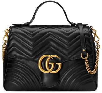 Gucci GG Marmont medium top handle bag