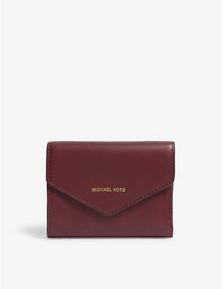 MICHAEL Michael Kors Blakely Jet Set small leather wallet