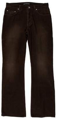 John Varvatos Corduroy Five-Pocket Bootcut Jeans