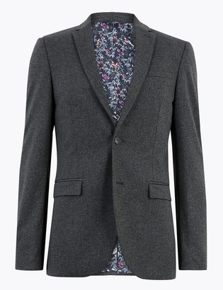 Marks and Spencer Skinny Fit Textured Jacket