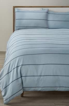 Treasure & Bond Textured Stripe Duvet Cover