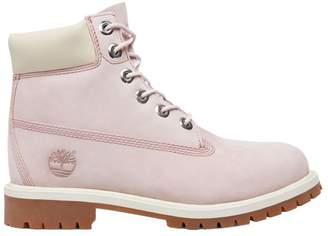 Timberland Youths 6 Inch Classic Premium Purple Nubuck Boots 7 US