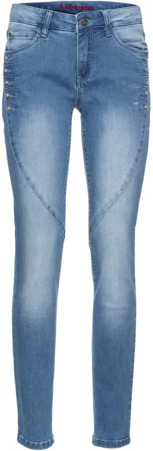 Jeans mit Strass-Steinchen
