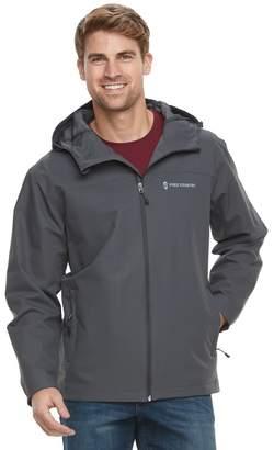 Free Country Men's Waterproof Dobby Hooded Rain Jacket