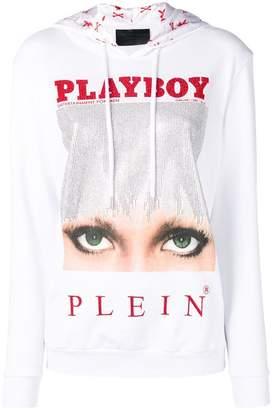 Philipp Plein X Playboy printed hoodie