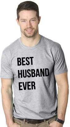 Crazy Dog T-shirts Crazy Dog Tshirts Mens Best Husband Ever Funny Wedding Marriage T shirt