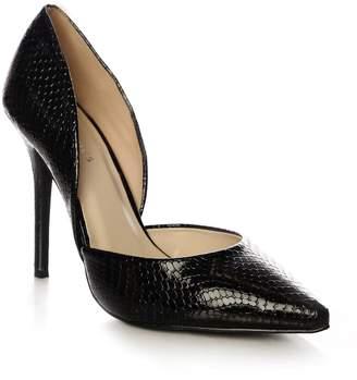 Next Womens Glamorous Patent Snake Court Heels