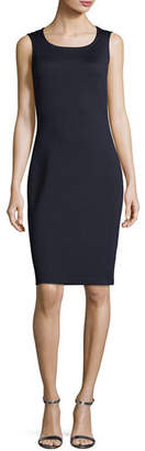 St. John Sleeveless Mid-Length Dress