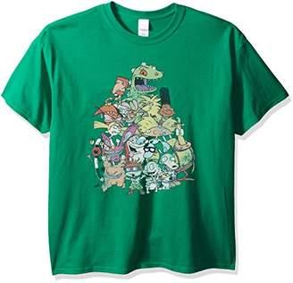 Nickelodeon Men's Big and Tall Nicktoons Supergroup T-Shirt