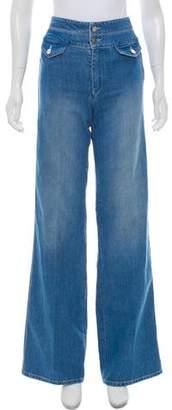 Victoria Beckham Victoria High-Rise Wide-Leg Jeans w/ Tags