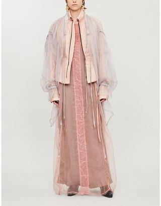 PHAEDO Silk and tencel-blend jacket