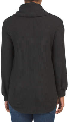 Made In Usa Cowl Neck Thermal Tunic