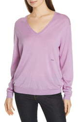Polo Ralph Lauren V-Neck Wool, Silk & Cashmere Sweater