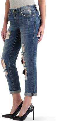 Rock & Republic Women's Indee Ripped Midrise Boyfriend Jeans