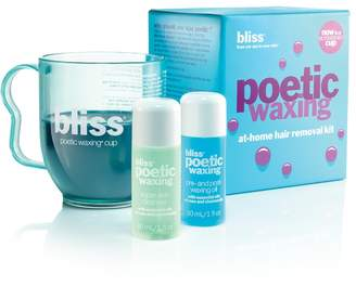 bliss Poetic Waxing At-Home Hair Removal Kit $48 thestylecure.com