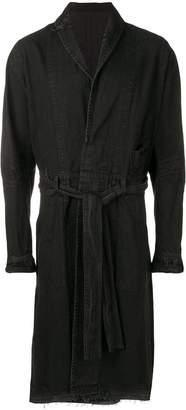 Julius belted coat