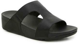 FitFlop H-Bar Shimmer Wedge Sandal - Women's