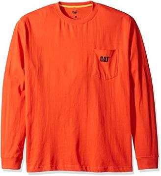 Caterpillar Men's Trademark Pocket Long Sleeve T-Shirt
