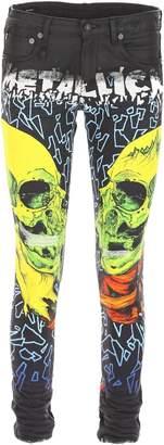 R 13 Kate Metallica Jeans