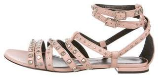 Saint Laurent Leather Multistrap Sandals