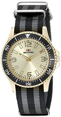 Seapro Women's SP5419NBL Analog Display Quartz Two Tone Watch