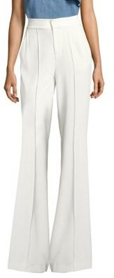 Alice + Olivia Dylan High-Waist Wide-Leg Pants $295 thestylecure.com