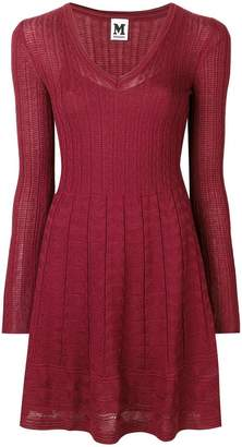 M Missoni jacquard knitted dress