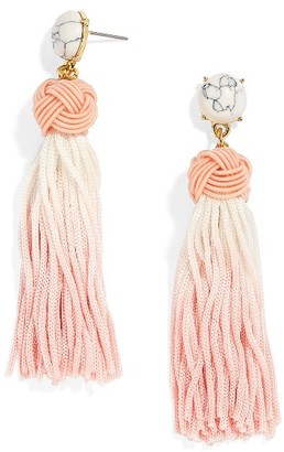 Women's Baublebar Sarina Ombre Tassel Earrings $38 thestylecure.com