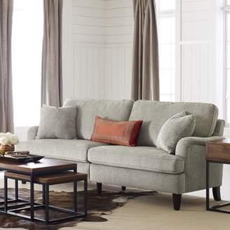 Carlisle Serta at Home 78 Sofa with Pleated Arms