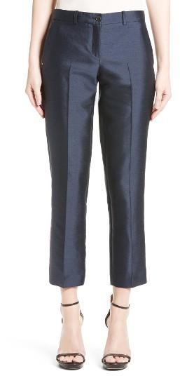 Women's Michael Kors Samantha Silk & Wool Pants